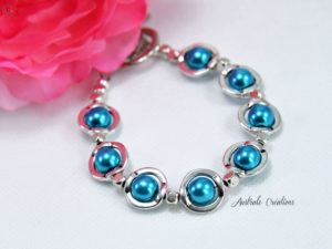 Bracelet Blue Saturn