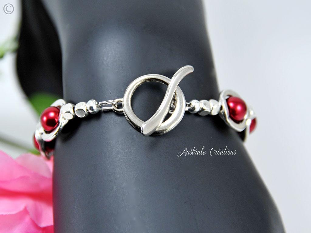 Bracelet Red Saturn