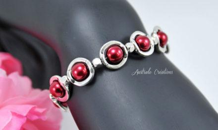 Bracelet «Red Saturn»