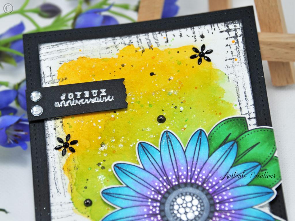 Carte Botanical Birthday