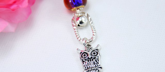 Collier « Owl Night Long »
