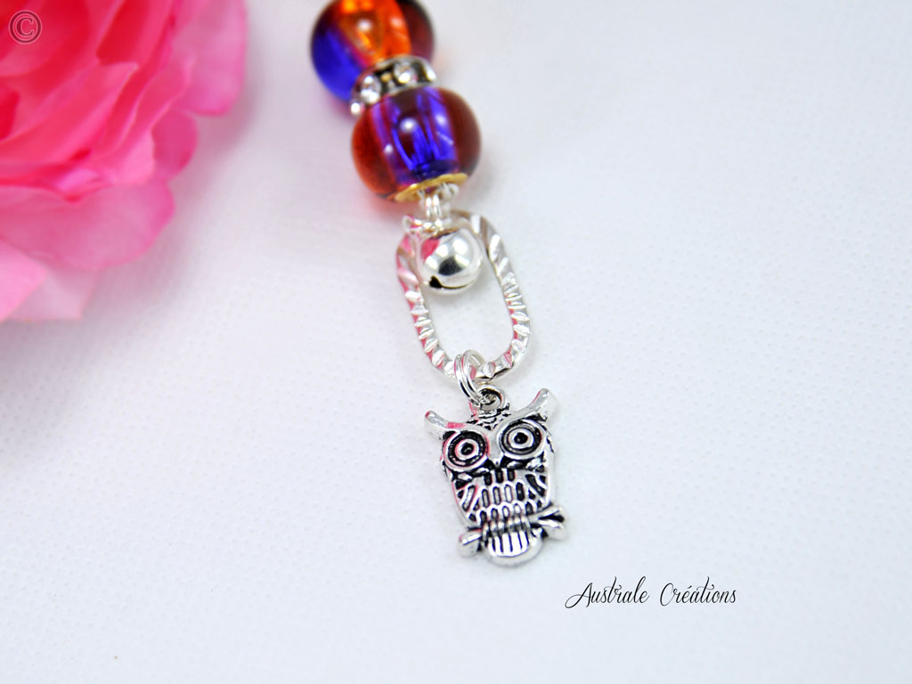 Collier Owl Night Long