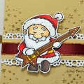Pochette Cadeau Santa Rock
