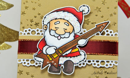 Pochette Cadeau : Santa Rock