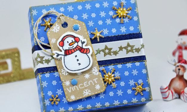 Boite Cadeau de Noel