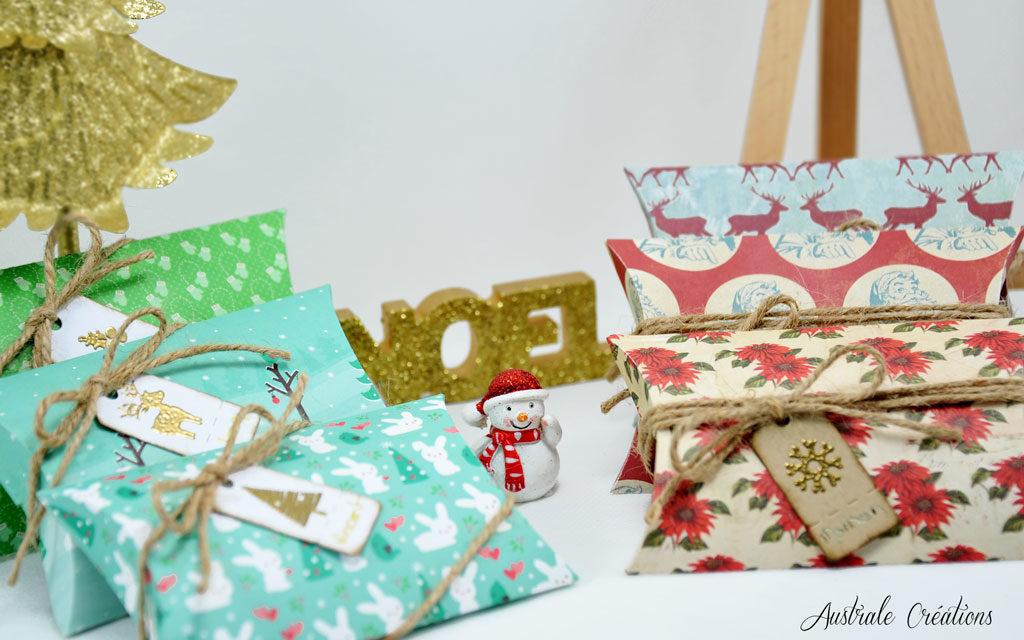 Boites Coussins de Noël