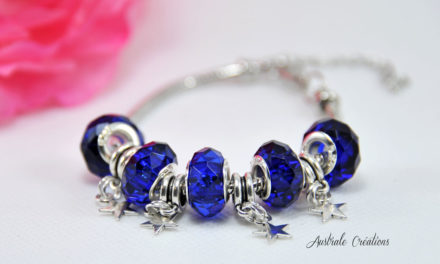 Bracelet « Blue Sunset »