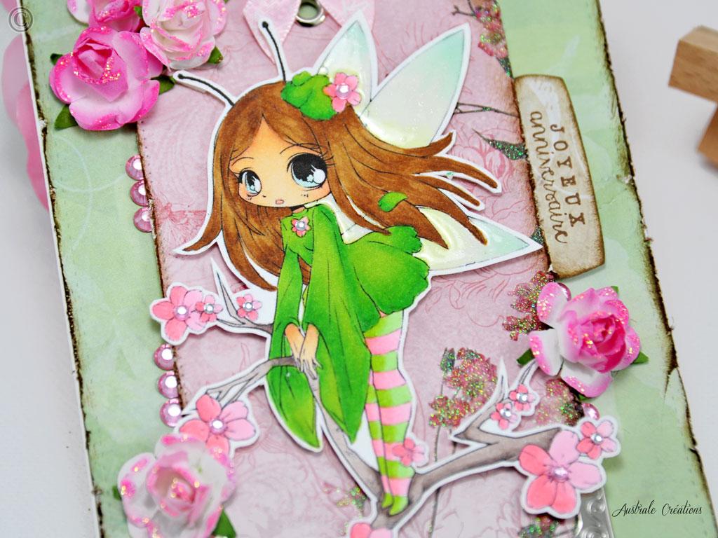 Carte Fairy Blossom