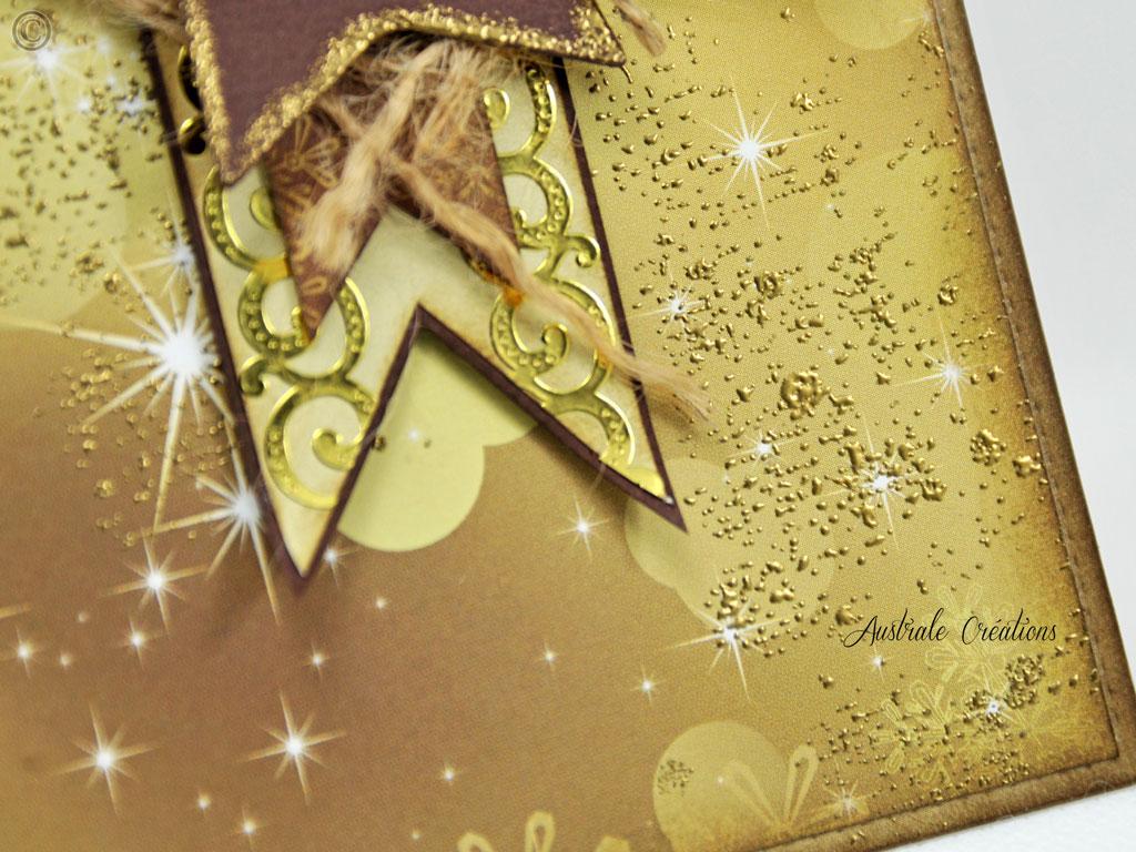 Carte Golden Birthday