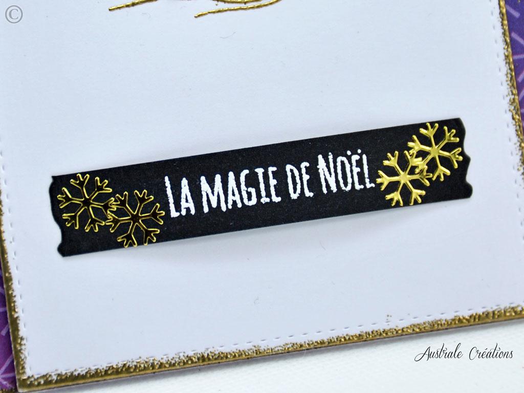 Carte La Magie de Noel