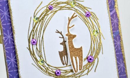 Carte : La Magie de Noel