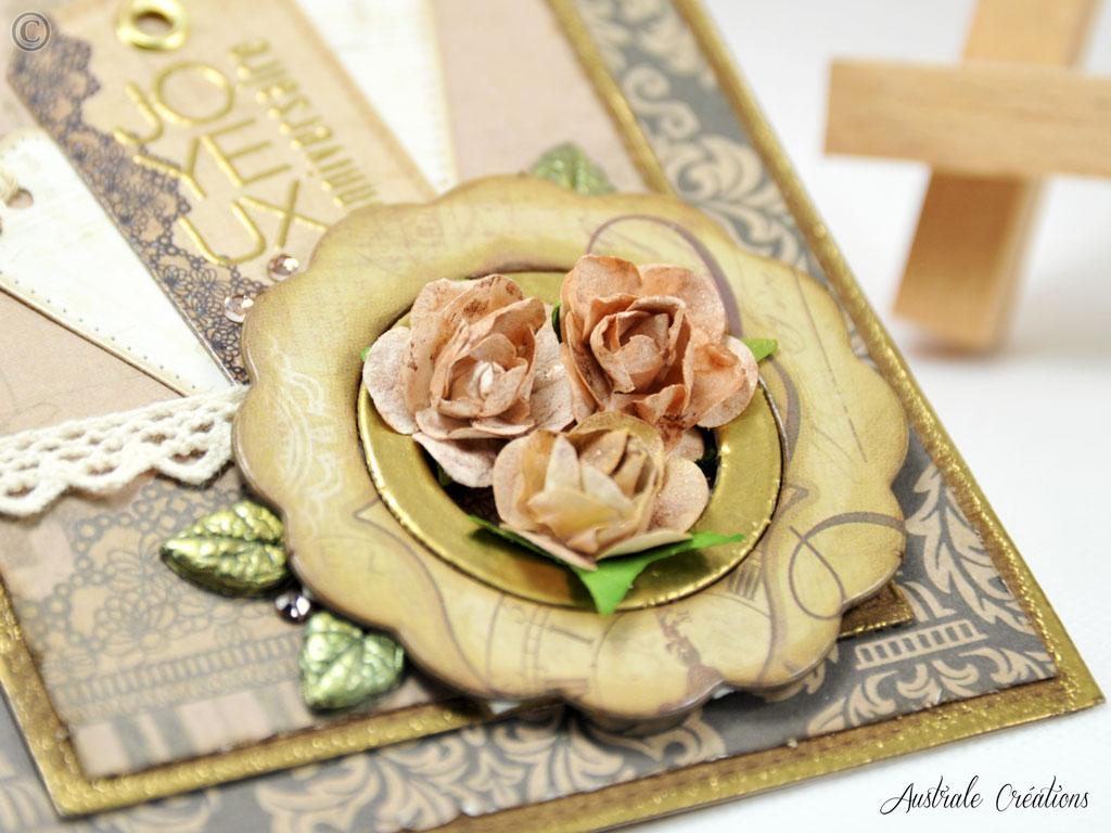 Carte Vintage Flowers
