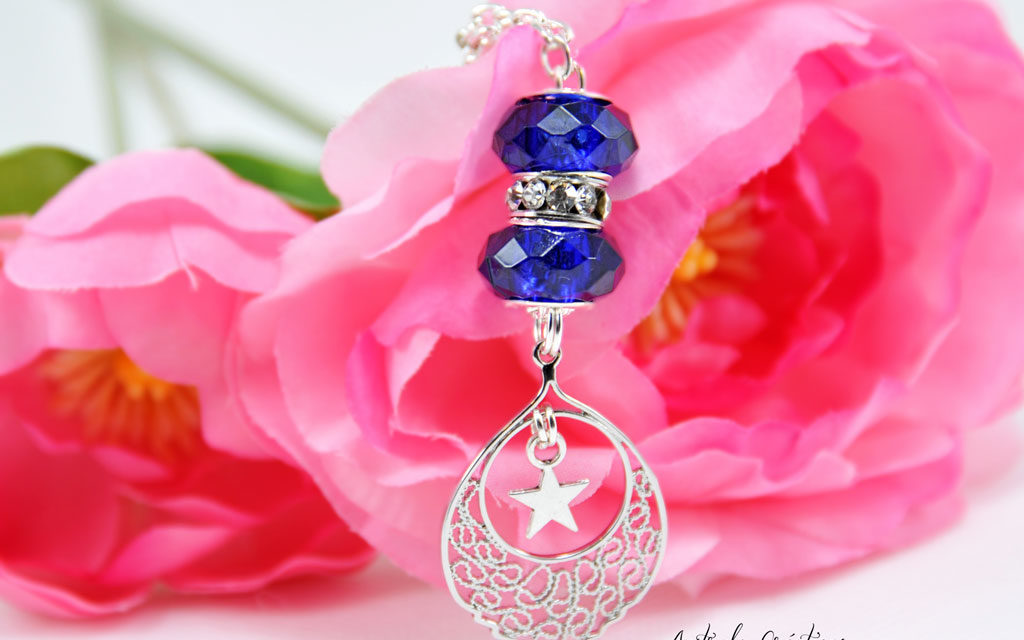 Collier « Blue Sunset »