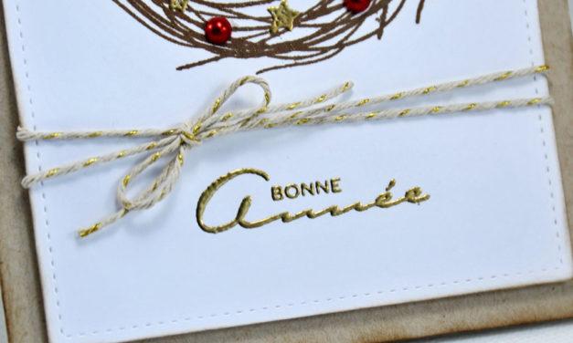 Carte : Holiday Wreath