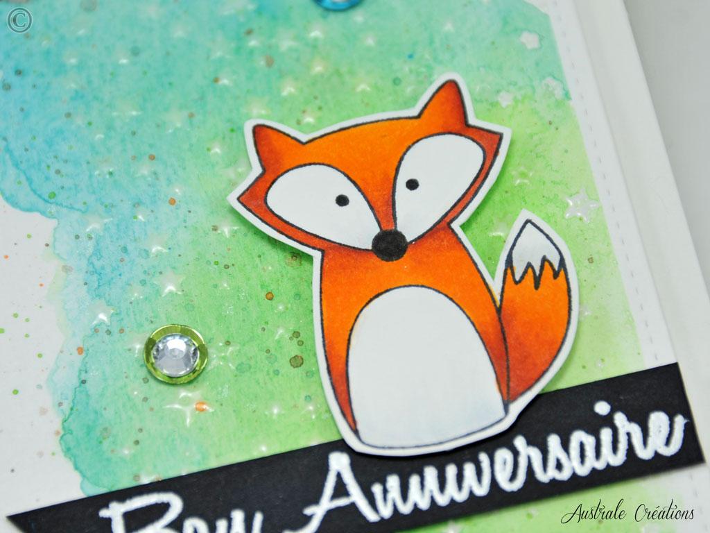 Carte Hey Foxy