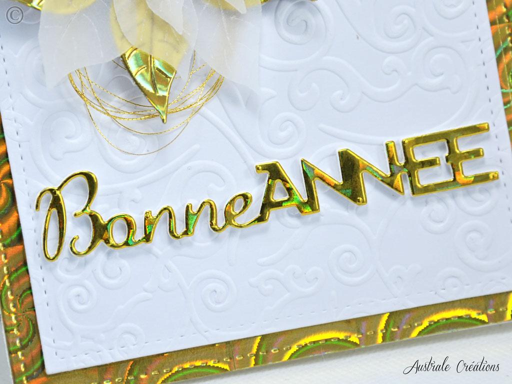 Carte Sweet Poinsettia