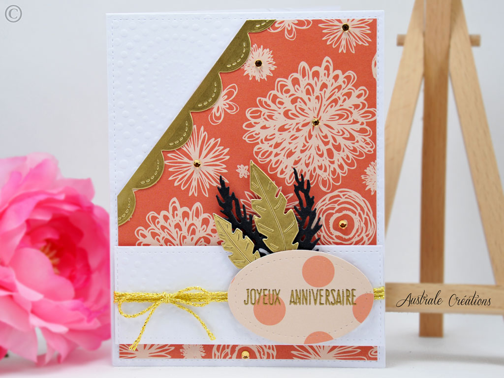 Carte Feather Inspiration