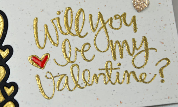 Carte : Will You Be My Valentine