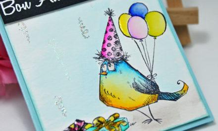 Carte Happy Bird-Day