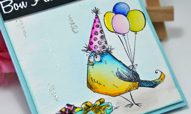 Carte Happy Bird-Day