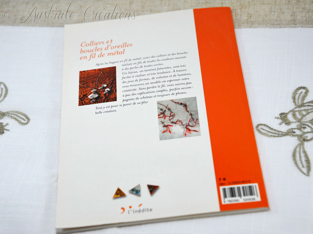 Livre Petits Fragments de Bijoux