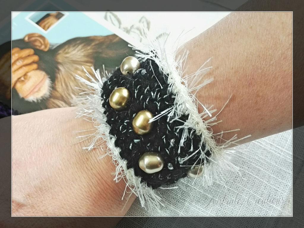 Bracelet au crochet par Cixie