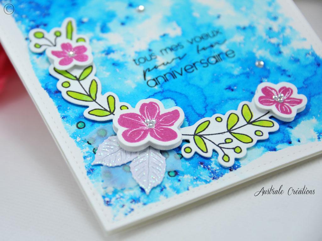 Carte Fleurs de Lagon