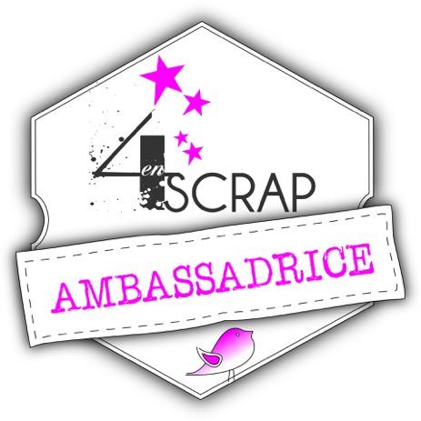 Ambassadrice Twitter 4enscrap