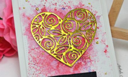 Carte : Heart of Roses