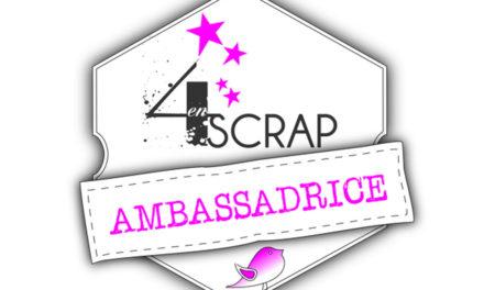 Ambassadrice 4enscrap !