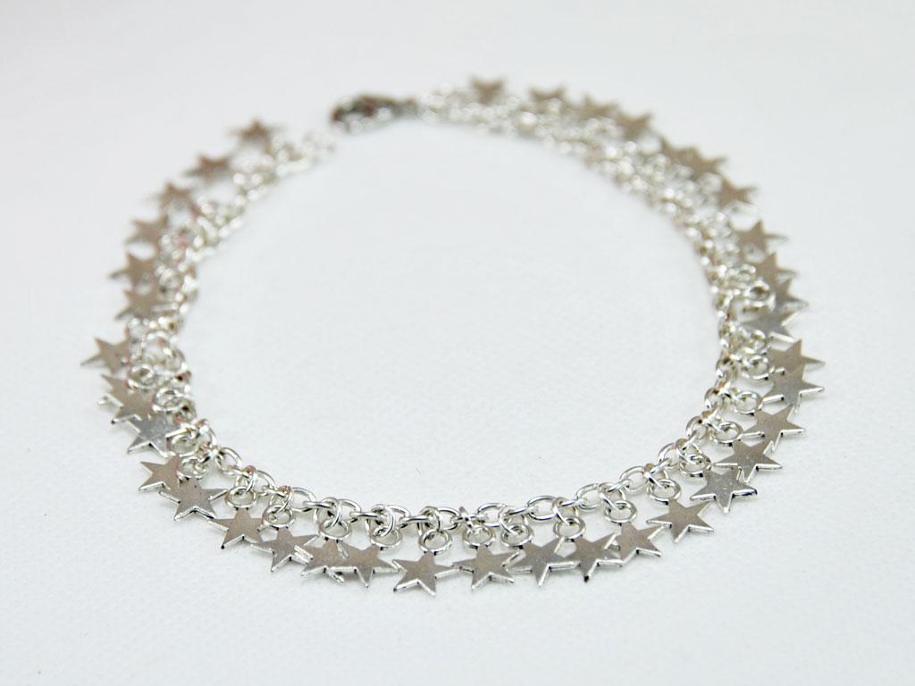 Anklet Silver Stars