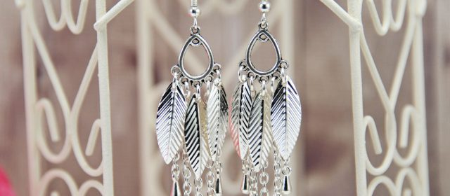 Boucles d'Oreilles «Feather Catcher»