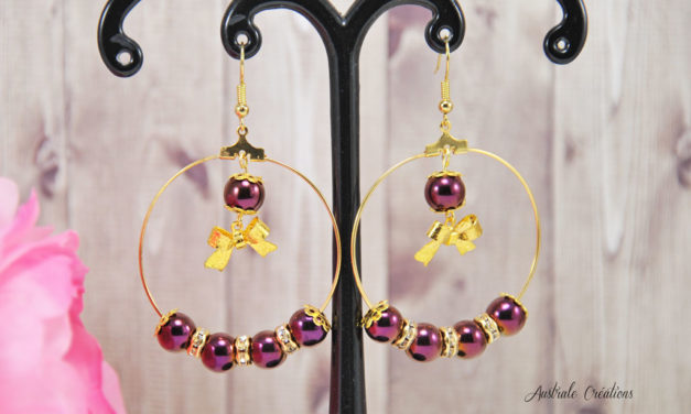 Boucles d'Oreilles « Take a Bow »