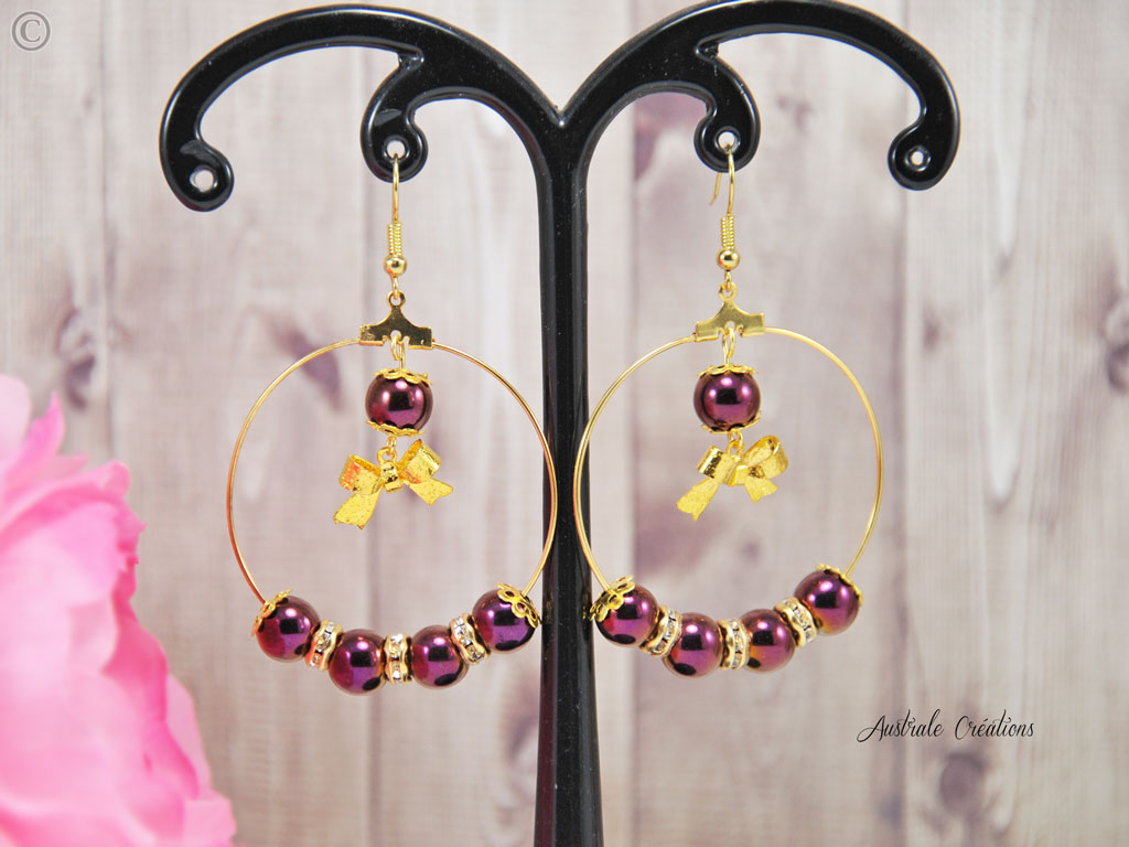 Boucles d'Oreilles Take a Bow
