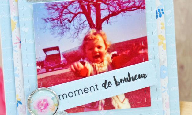 Carte : Moment de Bonheur