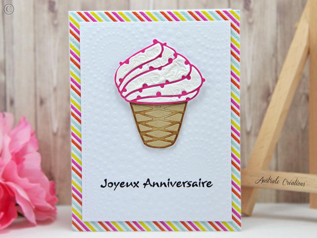Carte Sending Cupcake