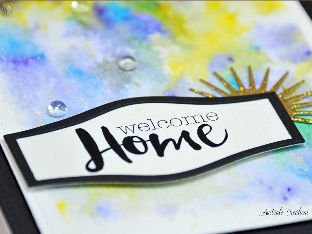 Carte Welcome Home