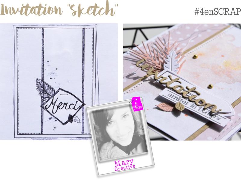 Invitation Sketch Mary