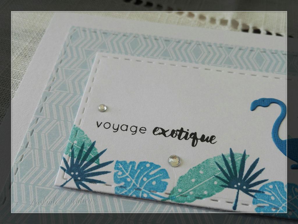 Carte Voyage Exotique par Danièle