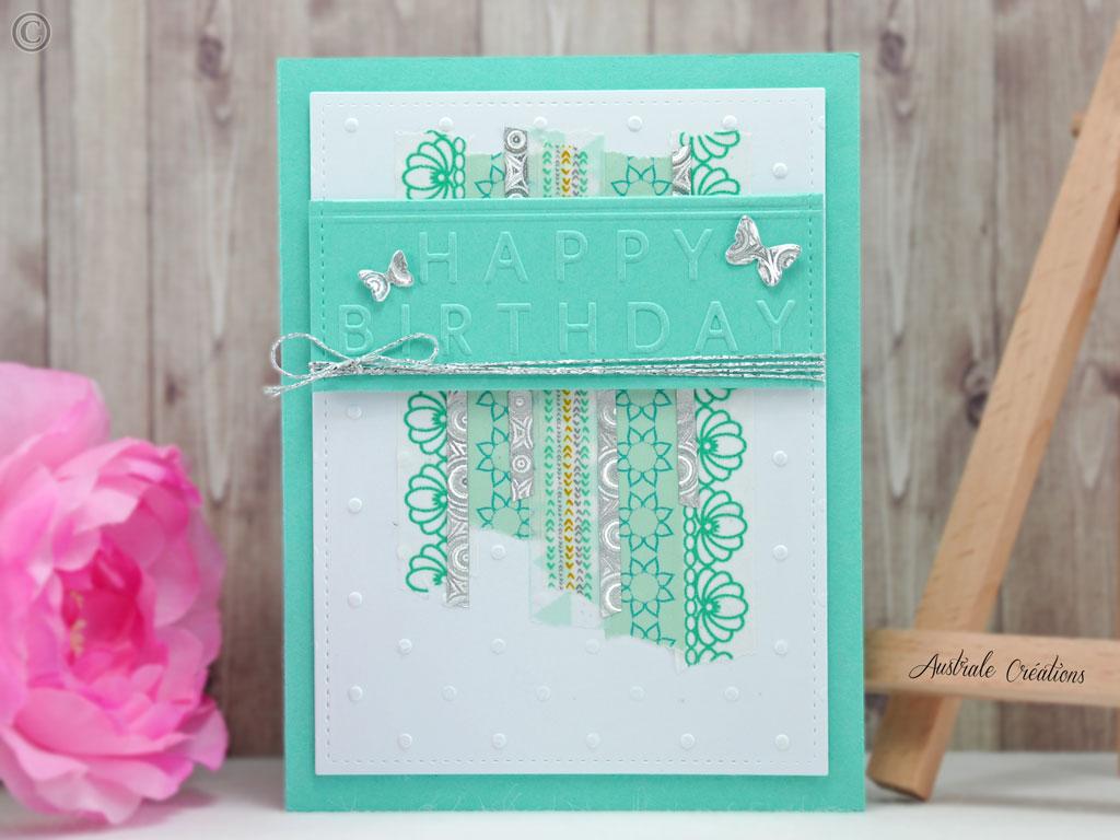 Carte Fabulous Birthday