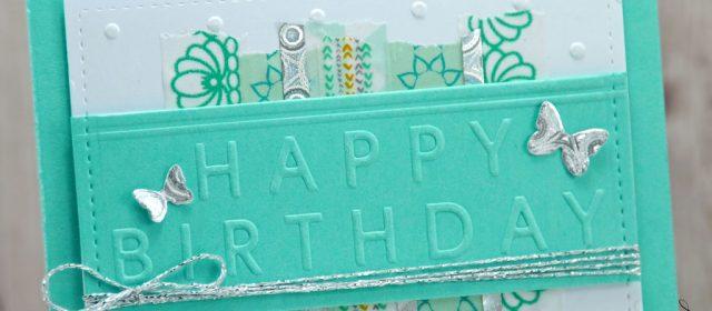 Carte : Fabulous Birthday