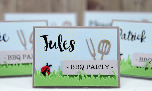 Marque-Places : BBQ Party