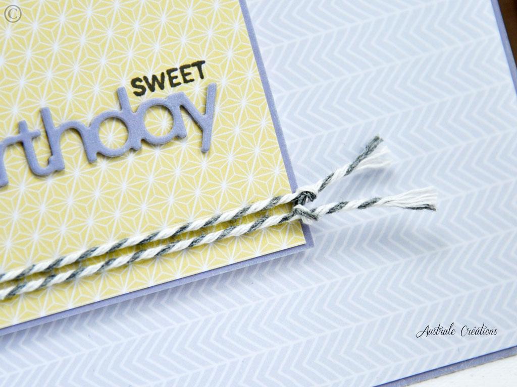 Carte Sweet Birthday