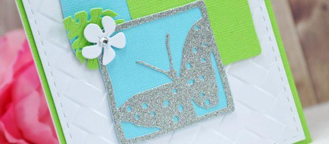 Carte:  Bleu Blanc Vert