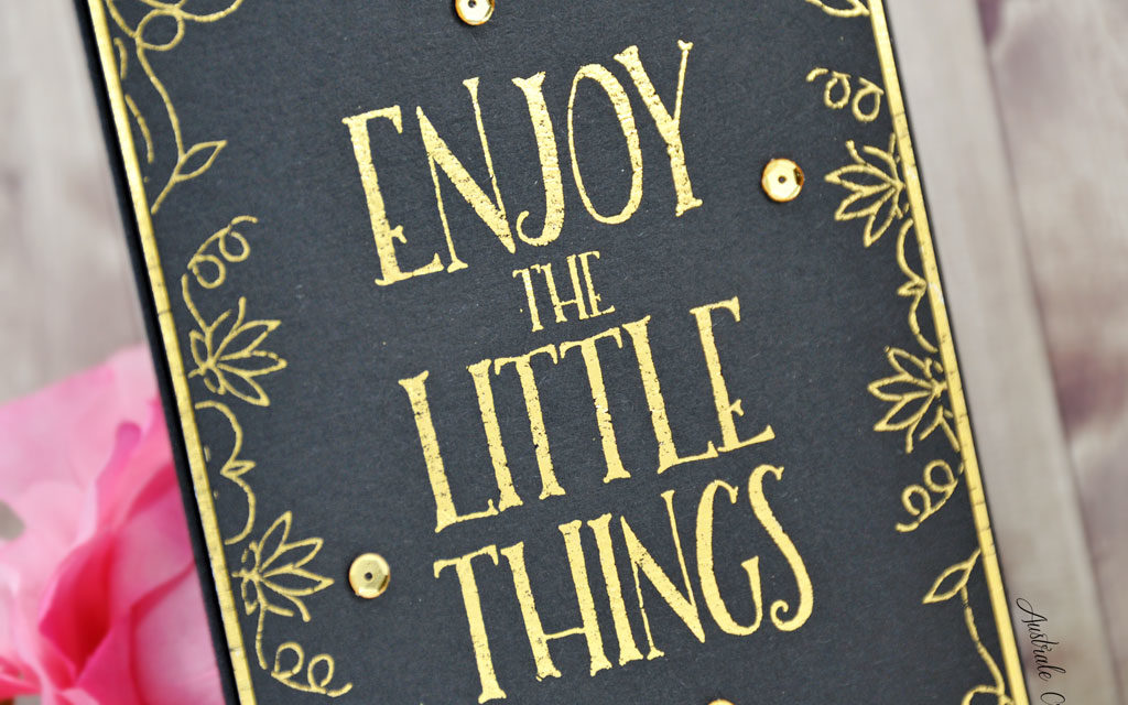Carte : Enjoy the Little Things