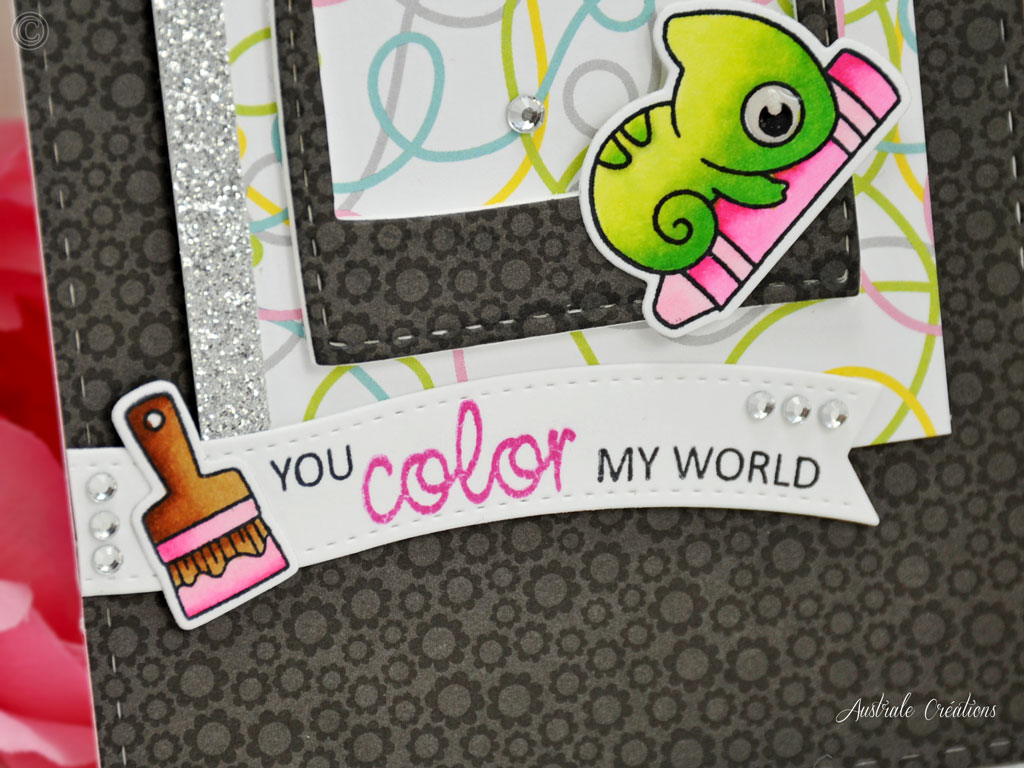 Carte You Color my World