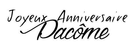 Etiquette à imprimer Joyeux Anniversaire Pacôme par Australe Créations