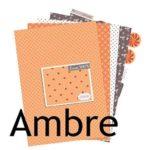 Collection Com16 : Ambre