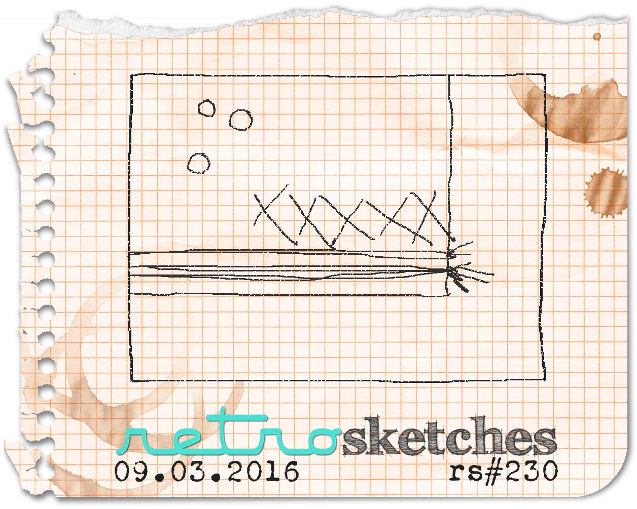 Retro Sketches Challenge #230
