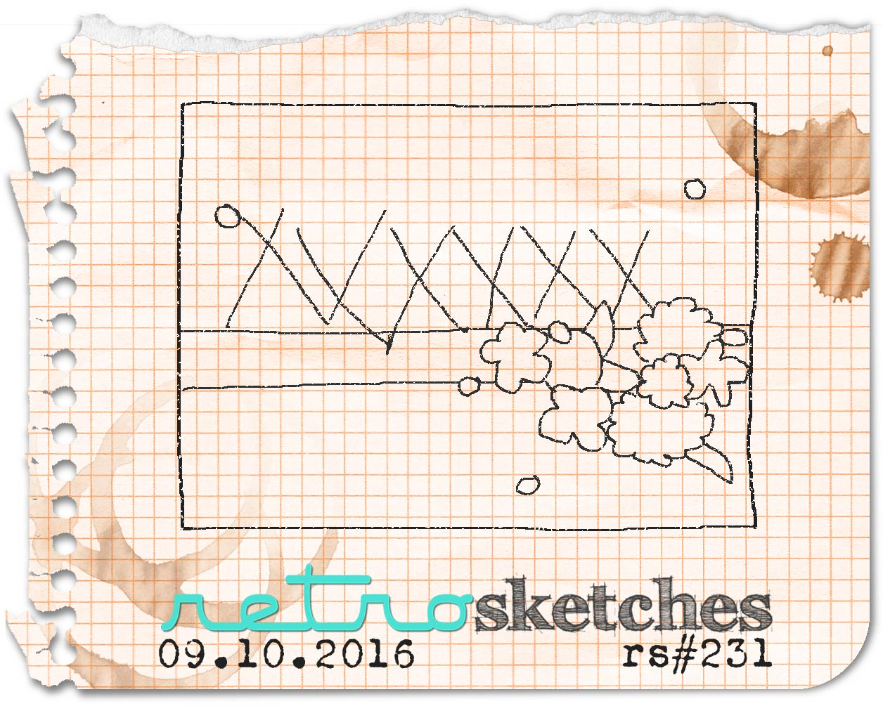Retro Sketches Challenge #231